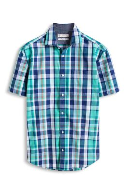 Esprit / Chemise à carreaux 100 % coton