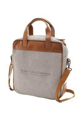 Esprit / Premium Tote Bag aus Canvas/Leder