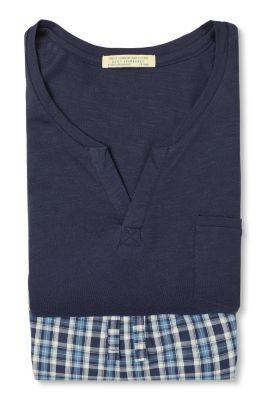 Esprit / Pyjama aus Jersey/Stoff, 100% Baumwolle