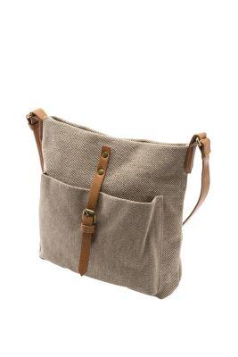 Esprit / Umhängetasche aus grober Baumwolle