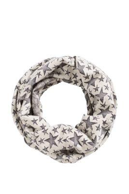 Esprit / Loop-Schal aus Sweatstoff