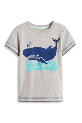 Esprit / Layer T-Shirt aus weichem Baumwoll-Mix