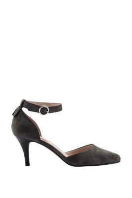 Esprit / Velours Riemchen Sandalette