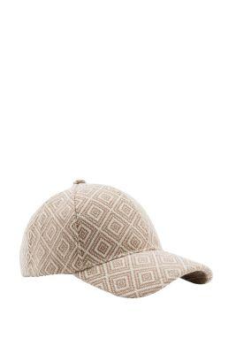Esprit / Cap aus grobem Baumwoll-Mix