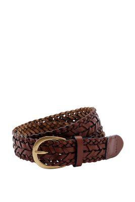 Esprit / Woven leather belt