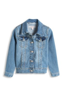 Esprit / Weiche Stretch Denim Jacke
