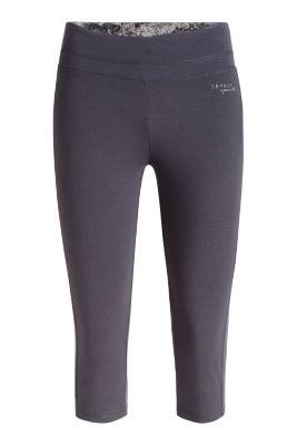 Esprit / Sport Capri aus Baumwoll-Stretch Jersey