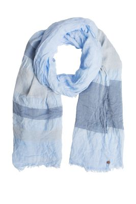 Esprit / Striped lightweight woven scarf