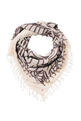 Esprit / Schal aus Baumwolle