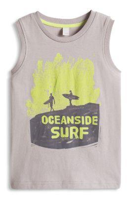 Esprit / Surf-Print Tank Top, 100% Baumwolle