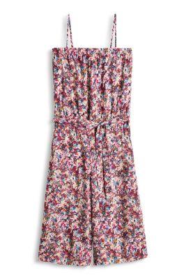 Esprit / Silkeblød culotte-jumpsuit