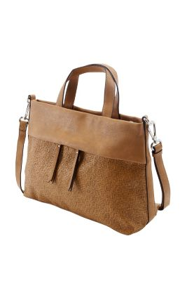 Esprit / City Bag in Leder-Optik