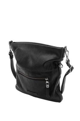 Esprit / Fold-over bag in imitation leather