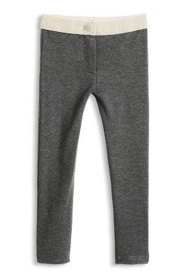Esprit / Jersey Hose mit schillerndem Bund