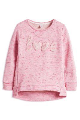 Esprit / Melange Sweatshirt mit Glanz-Effekt