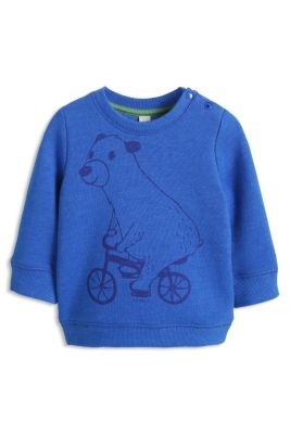 Esprit / Warmes Sweatshirt mit Print, Baumwoll-Mix