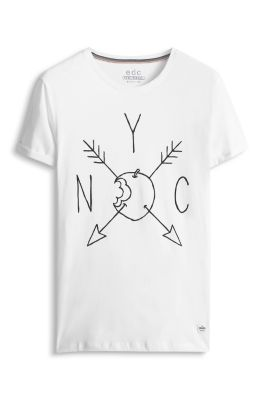Esprit / Baumwoll Jersey Print T-Shirt
