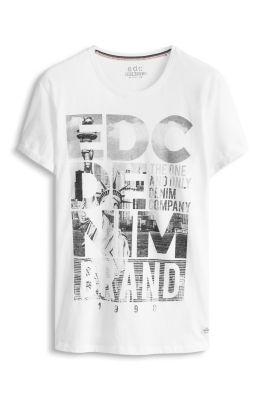 Esprit / Jersey Statement T-Shirt, 100% BW