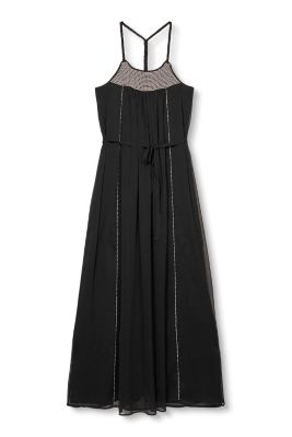Esprit / Crinkle chiffon maxi dress