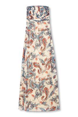 Esprit / Robe longue à imprimé paisley