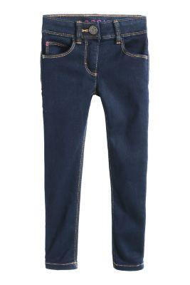 Esprit / Basic Stretch-Jeans mit dunkler Waschung