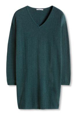 Esprit / Basic Feinstrick-Kleid