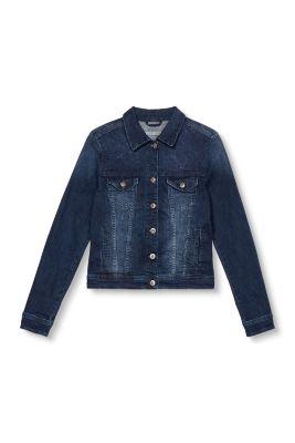 Esprit / Denim jacket + elaborate embroidery