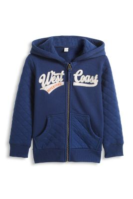 Esprit / Sweat Hoodie mit Stepp-Details und Patch