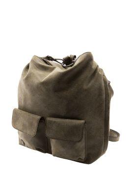 Esprit / Rucksack mit zwei Frontbags