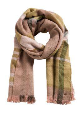 Esprit / Jacquard-Schal mit zwei Mustern