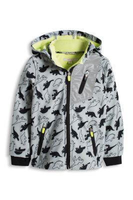 Esprit / Softshell Print Jacke mit Fleece-Innenseite