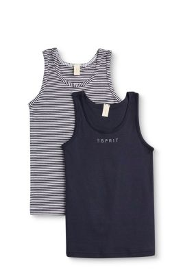 Esprit / Tops im Doppelpack, 100% Baumwolle