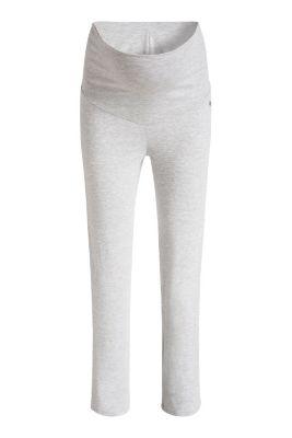 Esprit / Jersey-Stretch-Hose mit Überbauchbund