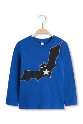 Esprit / Long sleeve T-shirt with a reflective bat