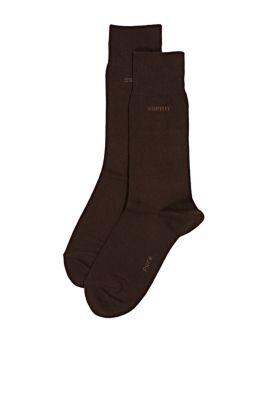 Esprit / 2 paar basic sokken